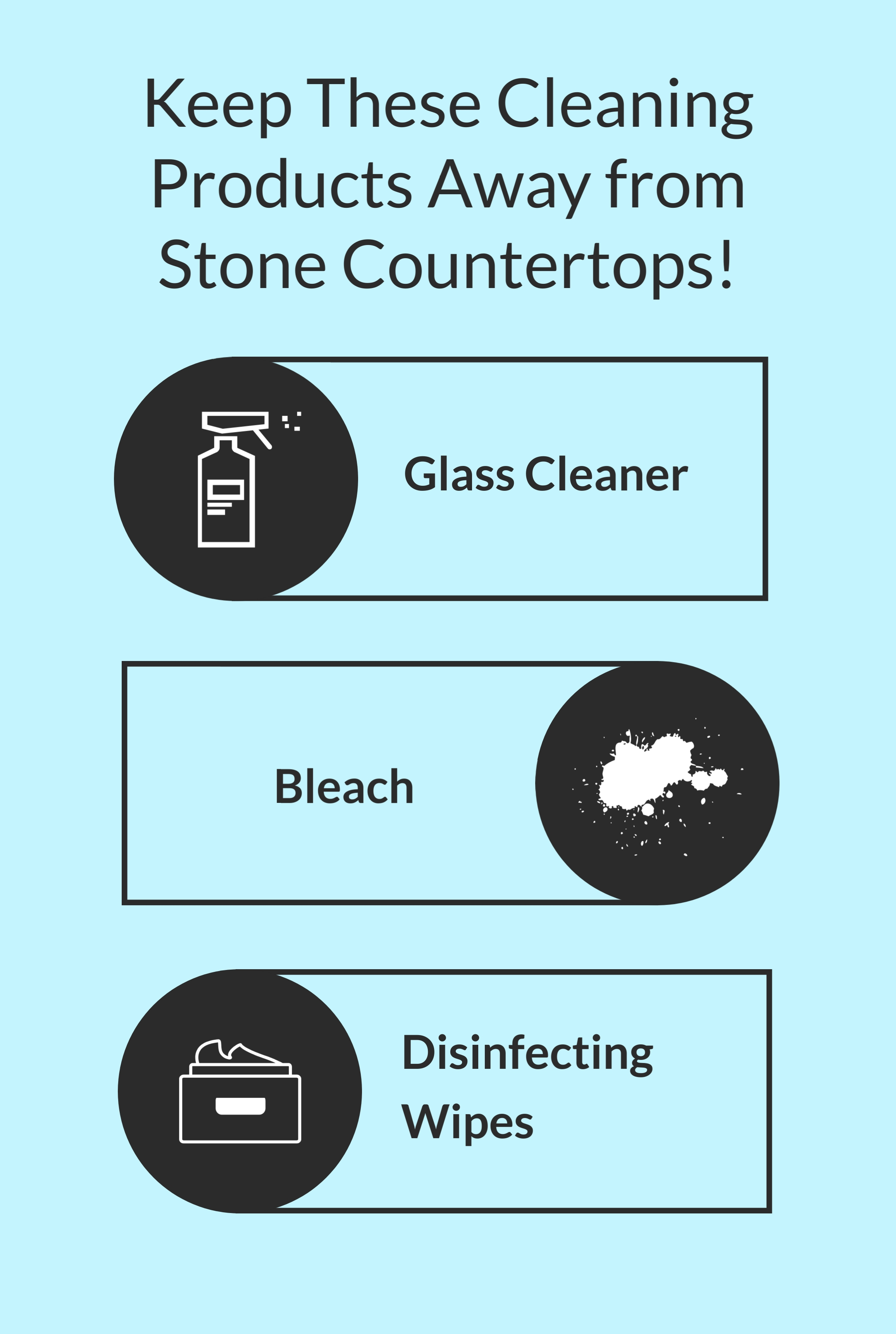 3 Cleaning Products You Should NEVER Use on Stone Countertops, R&D Marble, Conroe, TX