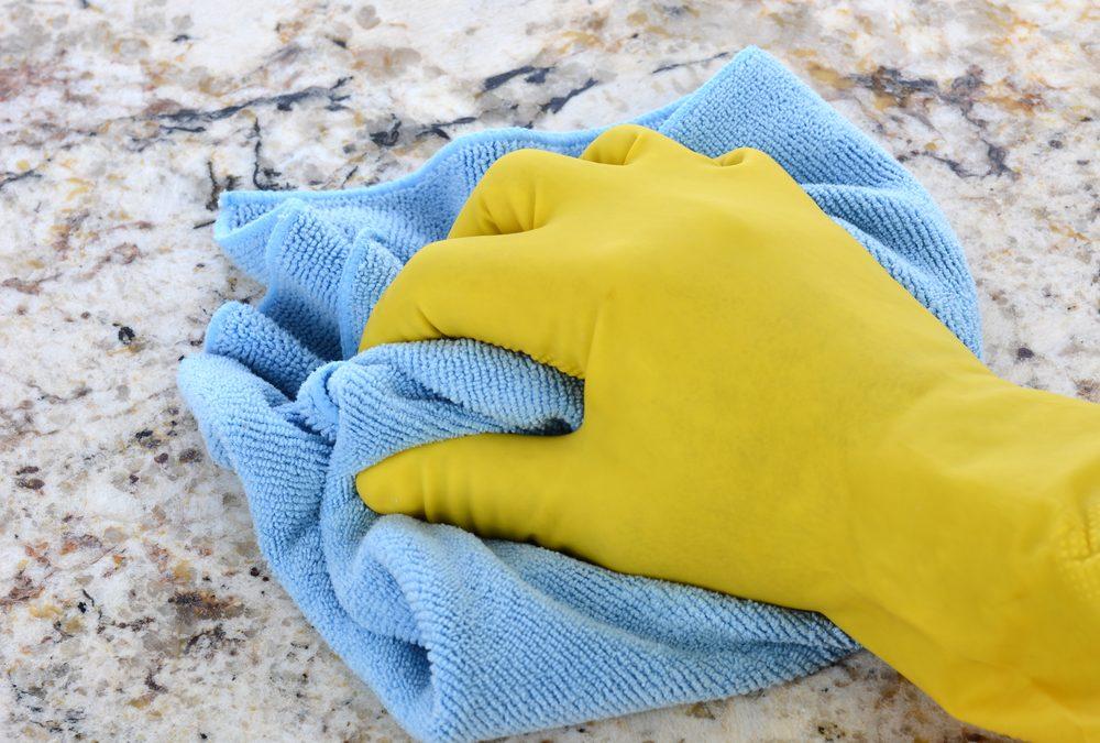 Disinfecting Your Kitchen & Bathroom Countertops