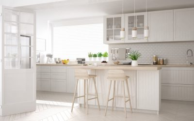 Building an All-White Kitchen