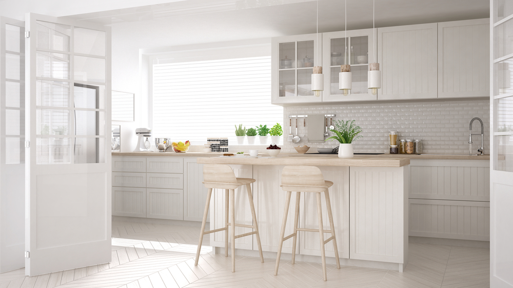 Building an All-White Kitchen, R&D Marble, Conroe, TX